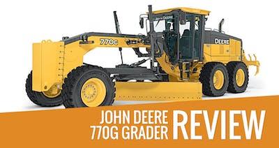 John Deere 770G Grader Review & Specs