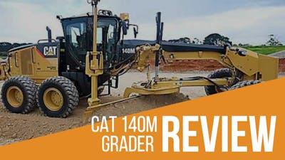 CAT 140M Grader Review & Full Specs