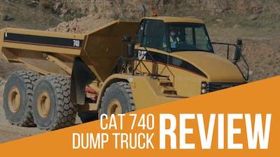 CAT 740 Articulated Dump Truck (ADT) Review & Specs