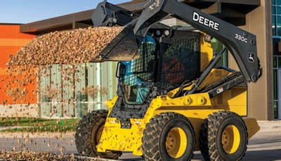 What to look for when inspecting a skid steer loader