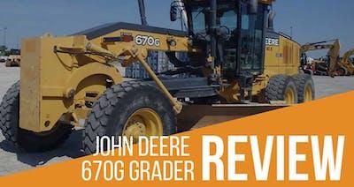 John Deere 670G Grader Review & Specs