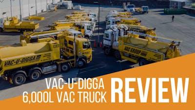 6000L Vac-U-Digga Vacuum Excavation Truck Review & Specs
