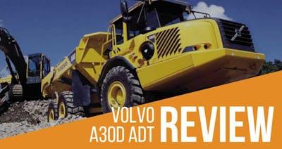Volvo A30D Articulated Dump Truck (ADT) Review & Specs | Volvo Dumper