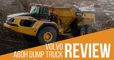 Volvo A60H Articulated Dump Truck Review & Specs
