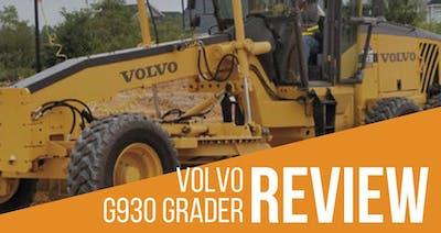 Volvo G930 Grader Review & Specs