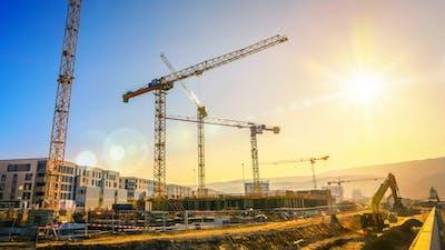 Types of Construction Cranes