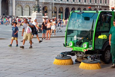 Do you Need a Licence to Operate a Street Sweeper?